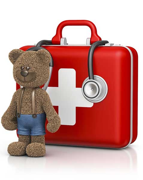 Tedy Bear First aid kit